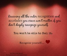 Recognize yourself ♡