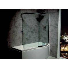 Complete wrap-around bath screen designed for the Carron Prado & Celsius showerbaths