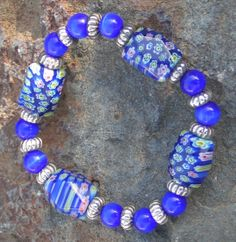 Beautiful Blue Holiday by Lisa on Etsy