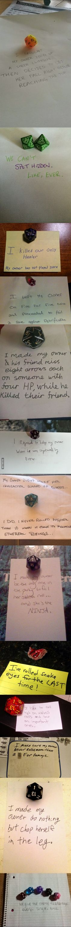 Dice Shameing - For Lonely Nerds Without Dogs