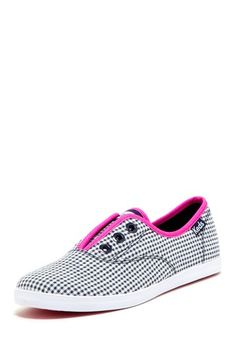 ddb8bf797fd Keds Rookie Laceless Gingham Sneaker by Keds on  HauteLook All Things  Fabulous