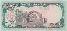 Afeganistão, 10000 Afghanis de 1993, pick#63c