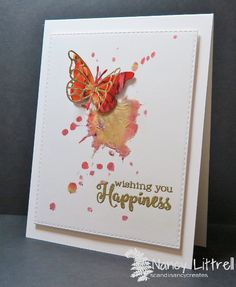 Butterfly and Splat Happiness