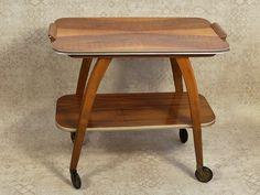 Vintage Tische - Teewagen, Servierwagen - 60er Jahre - ein Designerstück von Willi13 bei DaWanda