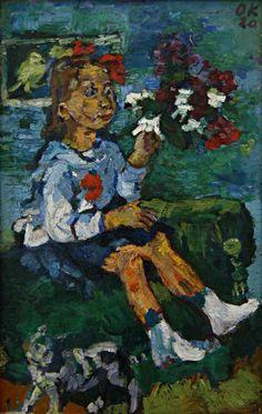 """Résultat de recherche d'images pour """"les enfants en peinture kokoschka"""""""