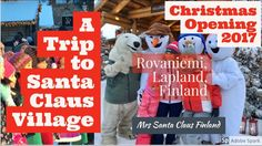 - Santa Claus gave me a hug in Rovaniemi! - YouTube