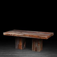 Anand Rectangular Dining Table Made of Rosewood