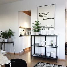 My new shelf #newhome #ikea #housedoctor #andywarhol #hay #uashmama #designletters