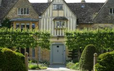Look at the espaliering of those trees; such discipline.  Arne Maynard Garden Design