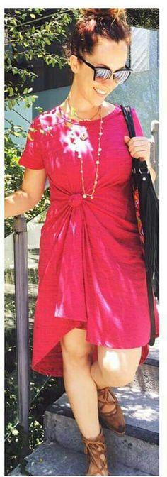 Lularoe Carly dress styling option