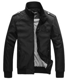 College Men Zipper Jacket
