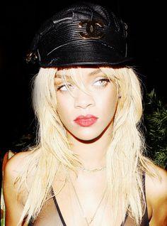 Chanel Hat   Rhianna