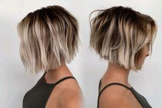 haar bob 2019 popular short hair style for women, refreshing, good care, sexy, make you look more beautiful and moving Short Blunt Haircut, Short Bob Hairstyles, Short Hair Cuts, Cool Hairstyles, Short Hair Styles, Women Short Hair, Short Textured Haircuts, Short Blunt Bob, Short Textured Bob