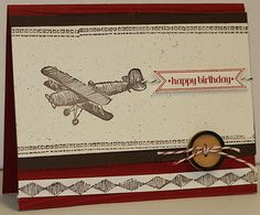 Masculine Stampin Up Birthday Card Kit