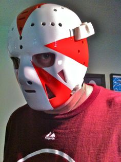 "Doug Favell's ""Sun Burst"" mask  Flyers 1973 Goalie Mask, Hockey Goalie, Best Masks, Masked Man, Pipes, Flyers, Nhl, Artists, Game"
