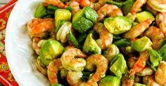 Easy Paleo Shrimp and Avocado Salad Recipe, low-carb, gluten-free
