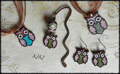 KIKI GYÖNGYEI - peyote owls :)