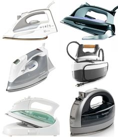Best Steam Irons 2013 Apartment Therapy's Annual Guide - I Definitely Plan To Get The Panasonic Cordless Iron !
