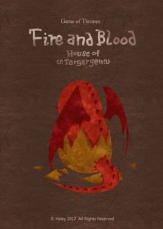 Game of Thrones as a children's book | House Targaryen