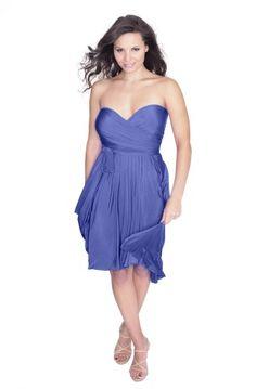 Sakura Short Convertible Dress Periwinkle Blue