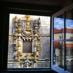 Tomar, Portugal Convento de Cristo ( janela do capítulo, estilo manuelino)