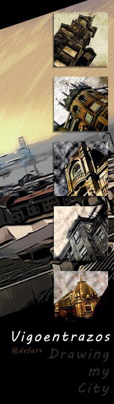 Drawing my City #Vigo