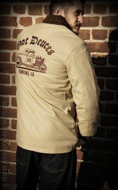 Rumble59 - Clicker Jacket - beige - Hot Deuces - FORD Model B