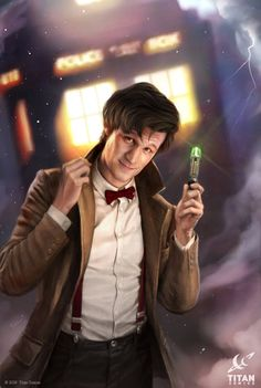 Doctor Who for Titan, the 11th Doctor by JoshBurns.deviantart.com on @DeviantArt