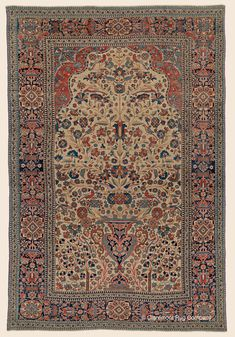Claremont Rug Company's guide to the art and history of antique Mohtasham Kashan carpets, a refined art-level antique Persian carpet admired by connoisseurs Persian Carpet, Persian Rug, Rug Company, Central, Woodland Nursery Decor, Patterned Carpet, Animal Nursery, Vase, Antique Art