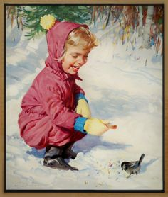 Vintage Winter -  by Harry Anderson