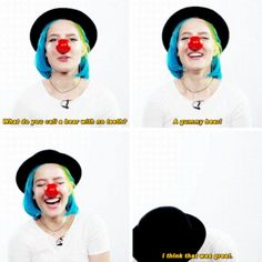 halsey laughing at her own joke is the cutest thing ever