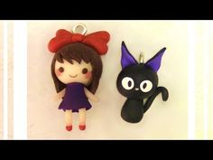 Kiki's Delivery Service Polymer Clay Charms Tutorial