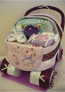 Diaper/Towel Carriage