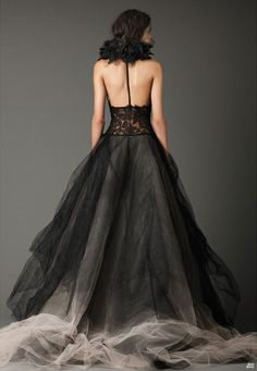 Vera Wang 2012/2013 Wedding Dress...black wedding.
