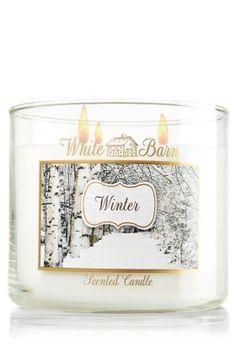 Winter 14.5 oz. 3-Wick Candle - Slatkin & Co. - Bath & Body Works