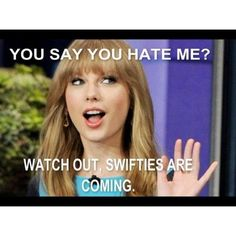 Twitter / Gallery - #swifties   I'm in that army