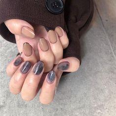 Get Nails, How To Do Nails, Hair And Nails, Shellac Nails, Acrylic Nails, Nail Polish, Minimalist Nails, Colour Tip Nails, Nail Colors