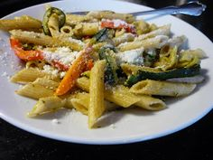 The Eclectic Cool Low-Acid Diet: Recipe: Pasta Primavera
