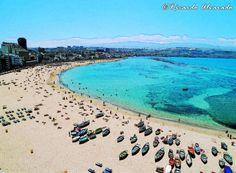 Playa de Las Canteras - Las Palmas de Gran  Canaria #GranCanaria