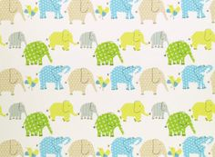 I want to use this adorable fabric to make a changing pad cover for the baby room!