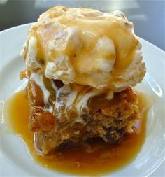 Winner, winner…sticky toffee banana pudding – for dinner or lunch or breakfast