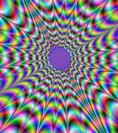L'image tremble ? Illusion d'optique !                                                                                                                                                                                 Plus