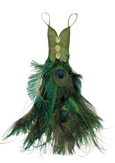 OMG! beautiful peacock fairy dress. Wish it would fit me...