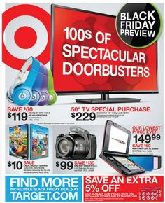 A guide to the best 2013 Black Friday Deals!