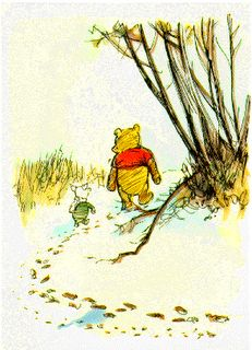 """When you wake up in the morning, Pooh,"" said Piglet at last, ""what's the first thing you say to yourself?""  ""What's for breakfast? said Pooh. ""What do you say, Piglet?""  ""I say, I wonder what's going to happen exciting today?"" said Piglet.    Pooh nodded thoughtfully. ""It's the same thing,"" he said.    - A.A. Miln"