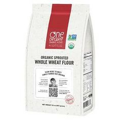 One Degree Organic Foods Sprouted Whole Wheat Flour 32 oz : Target
