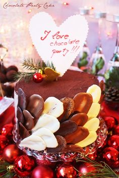 ''I love Chocolate Party-Winter edition'',for. Choco Chocolate, Chocolate Party, I Love Chocolate, Marathon, Birthday Cake, Magic, Cakes, My Love, Winter
