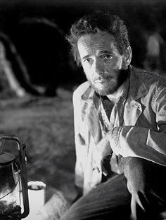 Bogey in Treasure of the Sierra Madre Old Movies, Great Movies, John Huston, Anjelica Huston, Movie Pic, Humphrey Bogart, Film Director, Big Star, Movie Characters