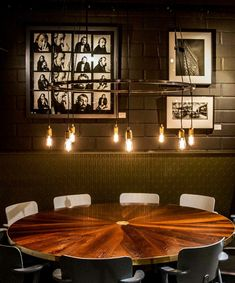 RUBN - Crafted in Sweden built by hand Café Bar, Restaurant Bar, Sweden, Ceiling Lights, Living Room, Lighting, Building, Table, Projects
