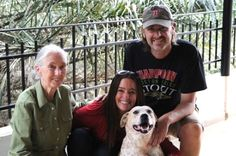 Jimmy and Jenny Desmond rescue orphaned animals, along with their own rescue Princess.